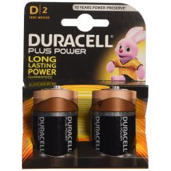 Batteries Duracell Plus Power LR20