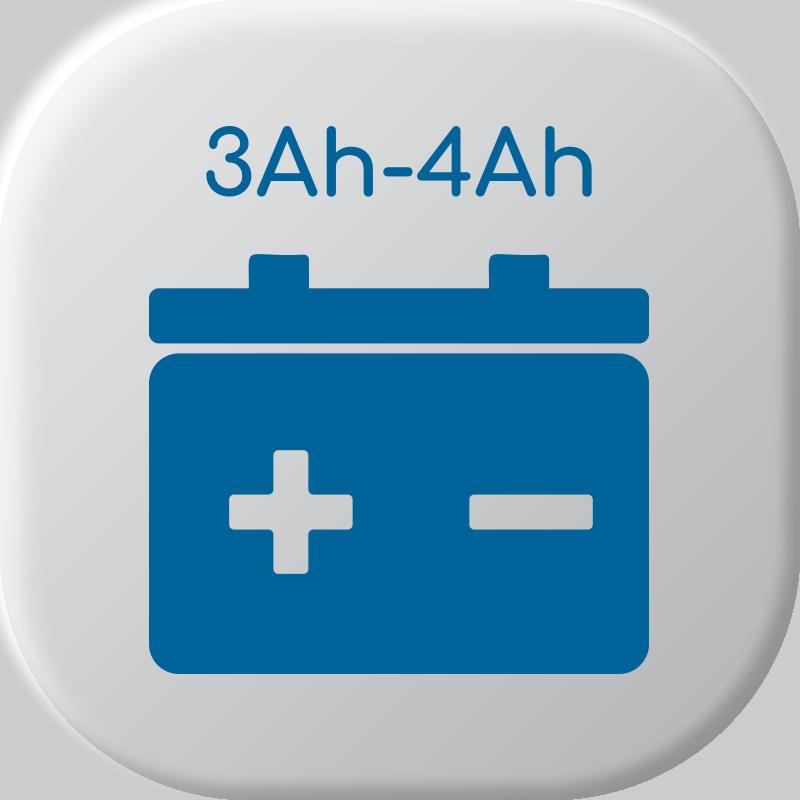 De 3Ah a 4Ah