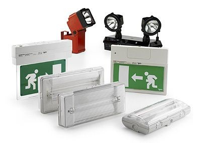 Emergency lights batteries
